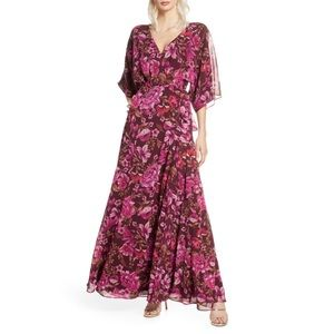 Fame and Partners Jagger Wrap Maxi Dress